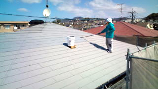 GAINA屋根上塗り