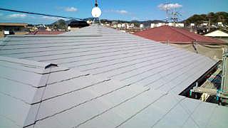 GAINA屋根塗装完成